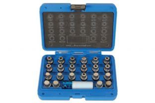 Laser 6275 Wheel Nut Key Set - VAG 23 piece